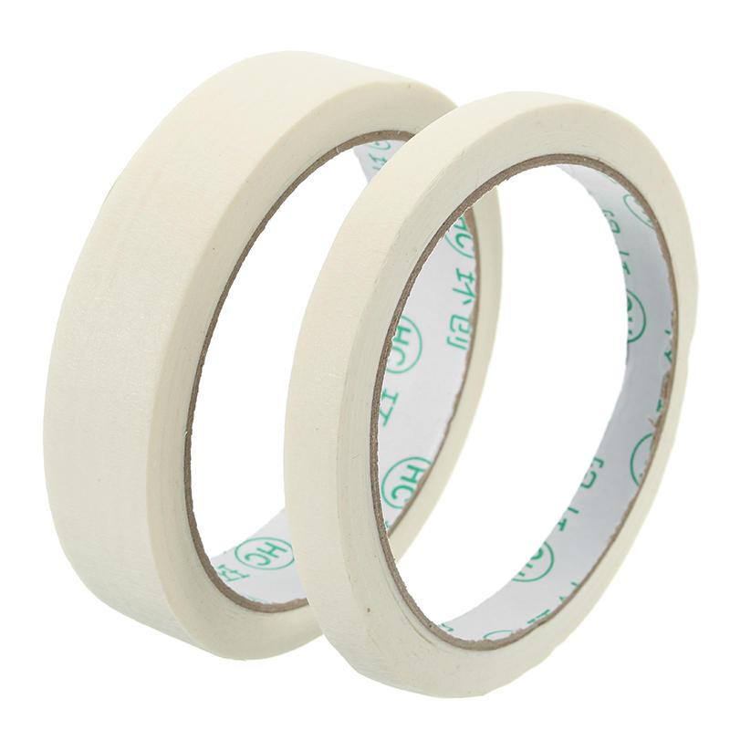 20 m di nastro adesivo in carta crespata per uso generico con rullo per mascheratura 20m