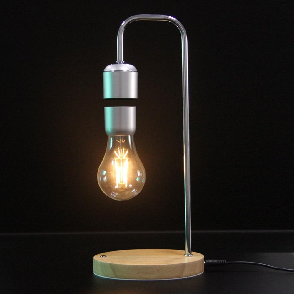 magnetic levitating floating suspended bulb desk table lamp room rh banggood com
