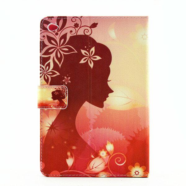 Fascino di lusso del diamante Bling ha stampato il basamento della cassa del cuoio per il iPad Mini 4