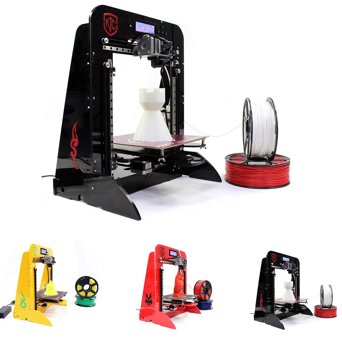 Tnice T 23 Single Extruder High Accuracy Diy 3d Printer Kit Come