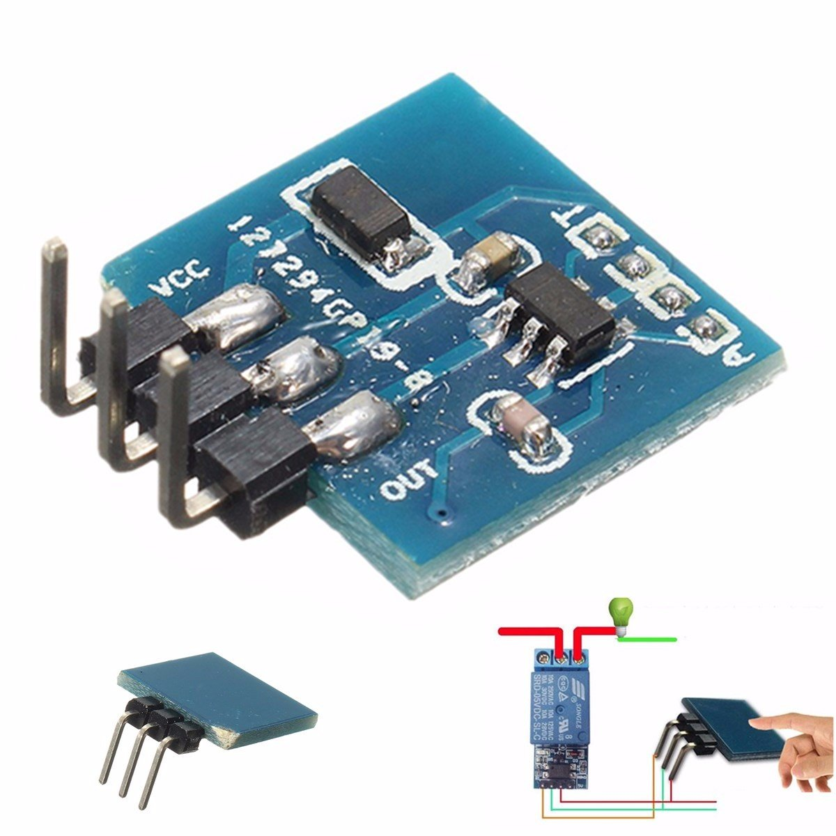 ttp223b digital touch sensor capacitive touch switch module for