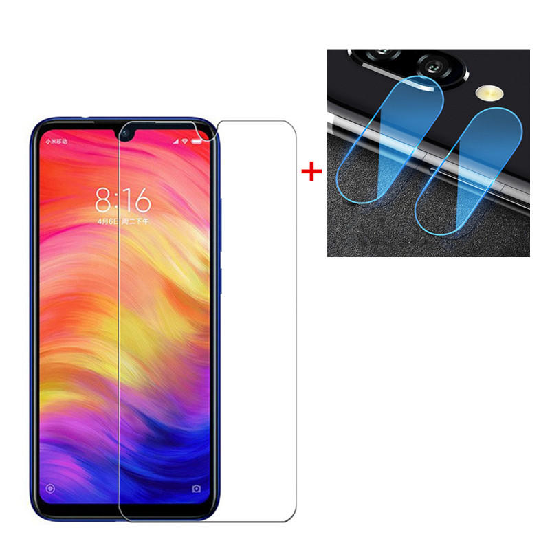Bakeey™ Anti-explosionTempered Glass Screen Protector + 2 PCS Phone Lens Protector for Xiaomi Redmi Note 7 / Note 7 Pro