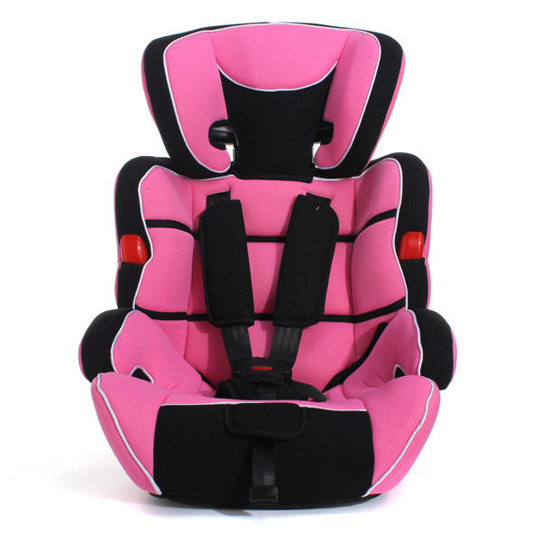 Pink Convertible Baby Kid Children Car Safety Seat Booster Group 1 2