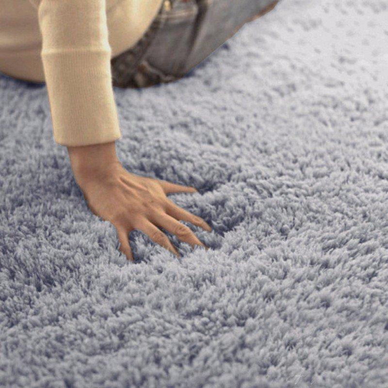 Honana WX-329 50x80cm 침실 거실 부드러운 러그 얽히고 설킨 방지 슬립 카펫 흡수 매트