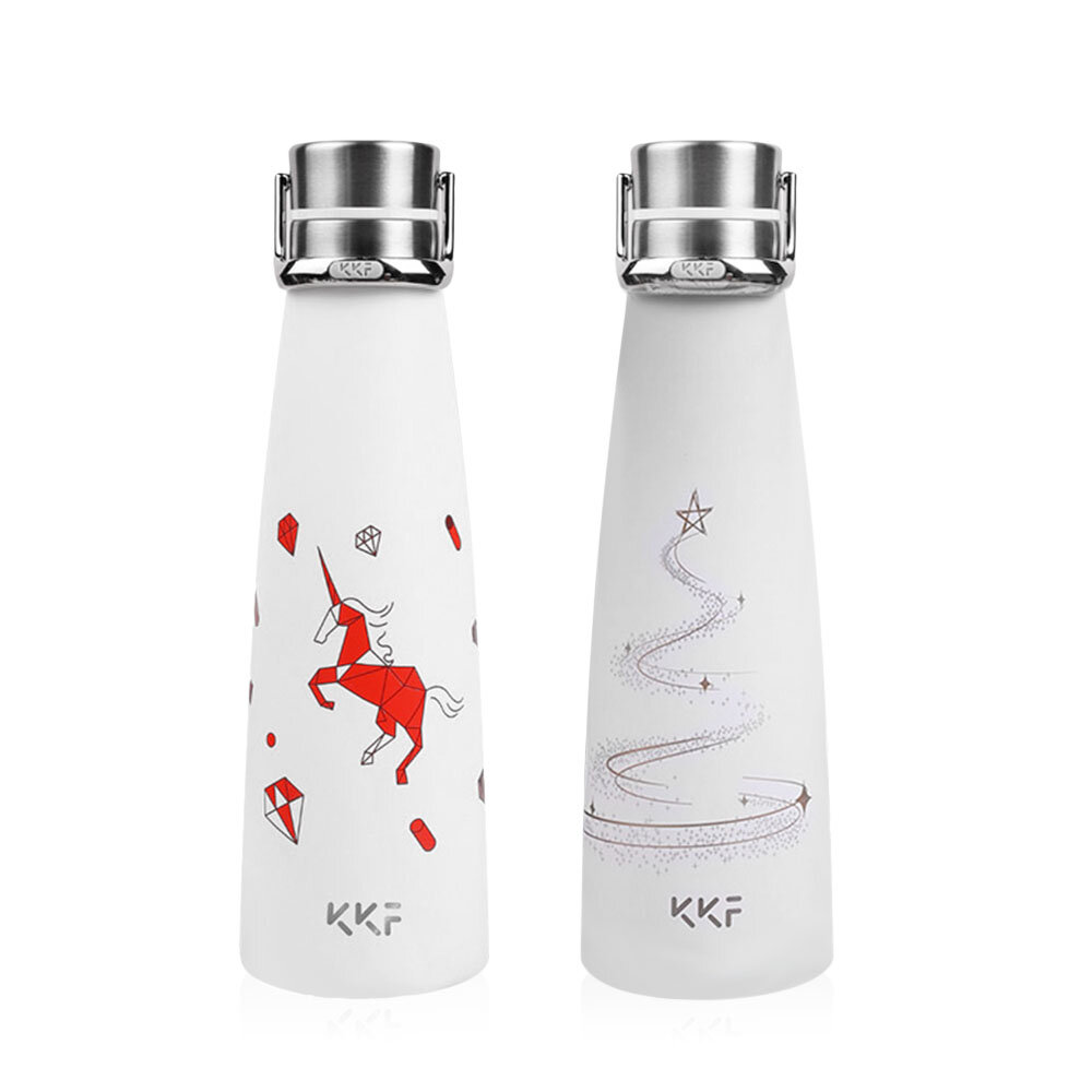 XIAOMI KISSKISSFISH [ Limited ]Smart Vacuum Th-ermos Water Bottle Th-ermos Cup Portable Water Bottles Best Gift Choice