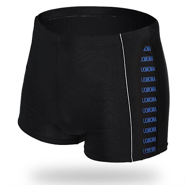 Quick Dry respirant réglable Drawstring Waist Boxers Swim Trunks pour hommes