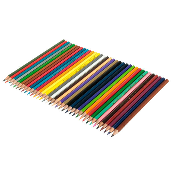 36 Color Non-toxic Drawing Pencils Set for Artist Writing Sketching