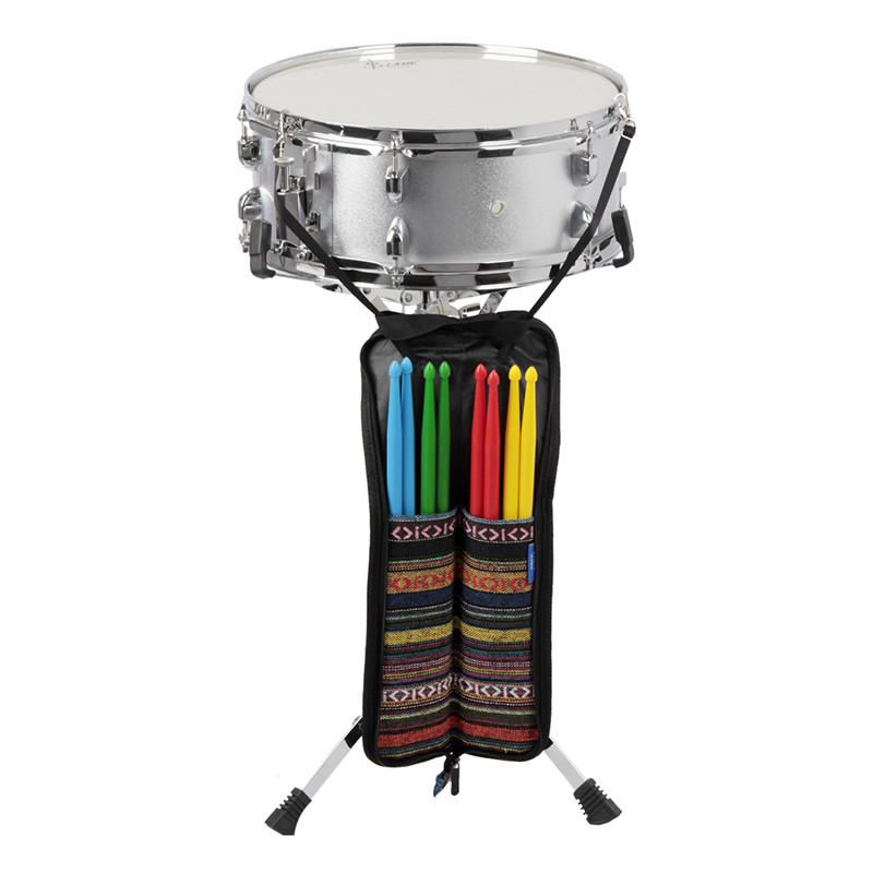 SLADE National Wind Drum Stick Rod Bag Waterproof Case for Drum Percussion Instruments
