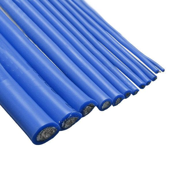 Blue 2M 8/10/12/14/16/18/20/22/24/26 AWG Silicone Wire SR Wire
