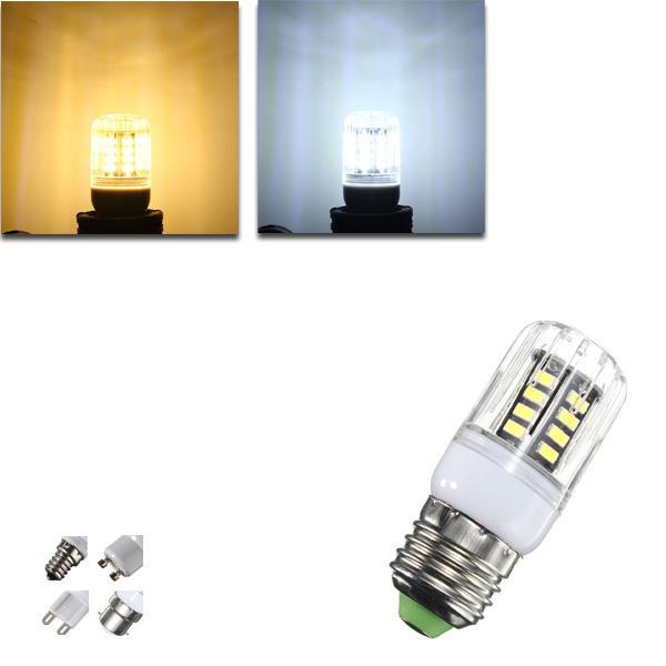G9 / e14 / e27 / B22 / GU10 4W 30 СМД 5733 LED покрытия кукурузы свет лампы LED лампа переменного тока 220В