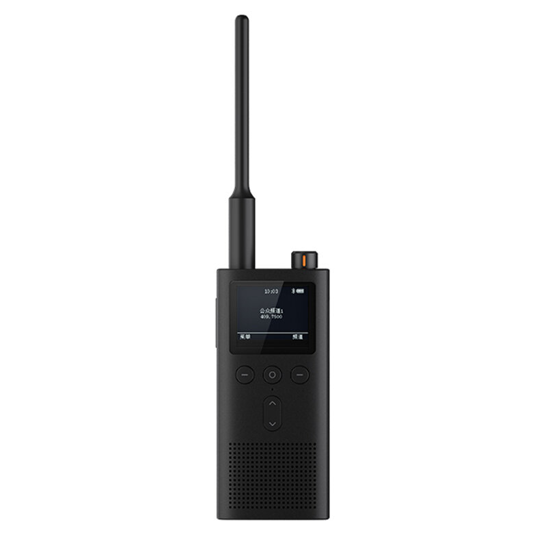 Xiaomi Mijia 2Gen 5W 430-440MHz UV Dual Band Radio Walkie Talkie IP65 Waterproof 13Days Super Long Standby Bluetooth Interphone USB Rechargeable