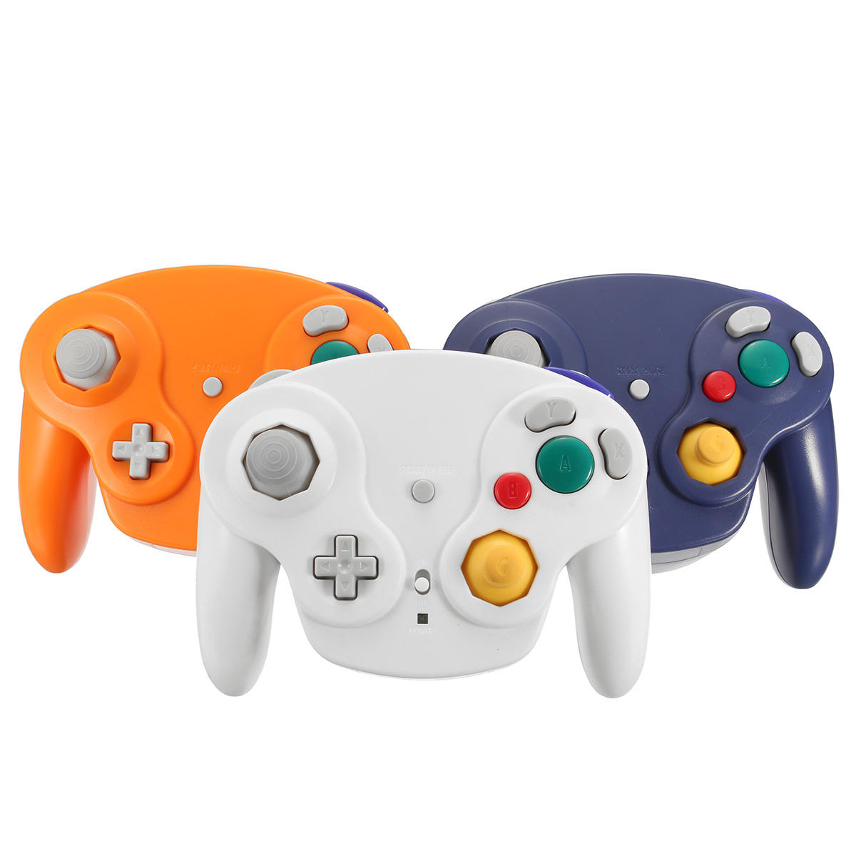 2.4Ghz Wireless Controller Game Gamepad pour Nintendo Gamecube NGC Wii
