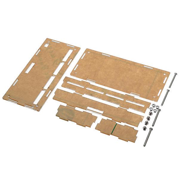 Boîtier de protection en carton acrylique transparent 5Pcs pour module de relais à 8 canaux