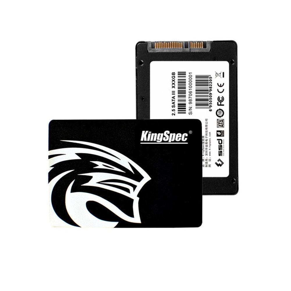 Série Kingspec Q Puce TLC SATA3 6 Gbit / s pour unité de disque dur interne de 2,5 pouces pour ordinateur
