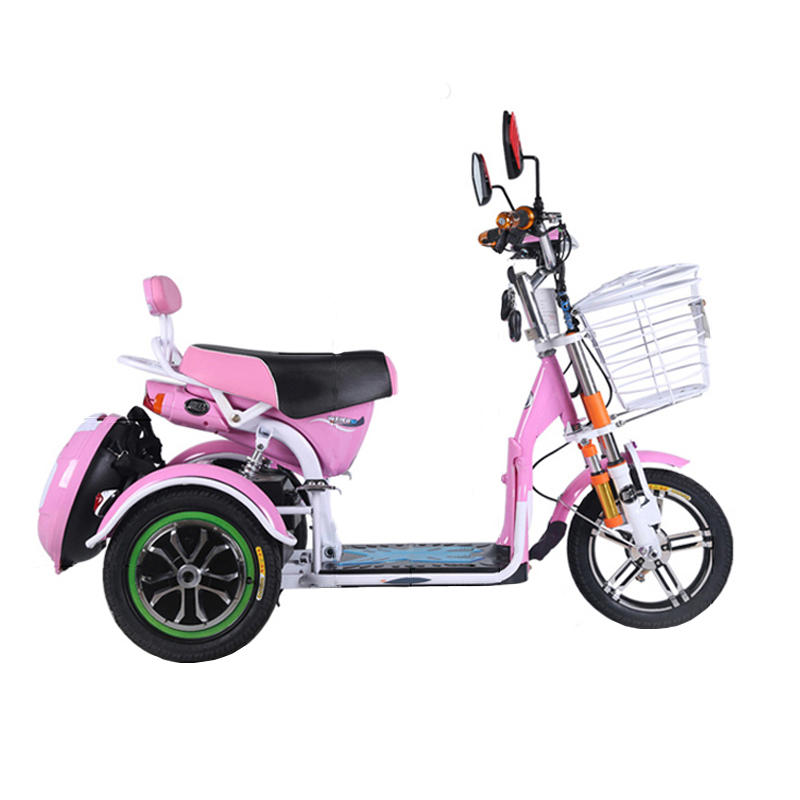Alfas 500w Electric Bike Scooter Tricycle 3 Wheels Max Sd 30km H Brushless Motor Elders Mobility Cod