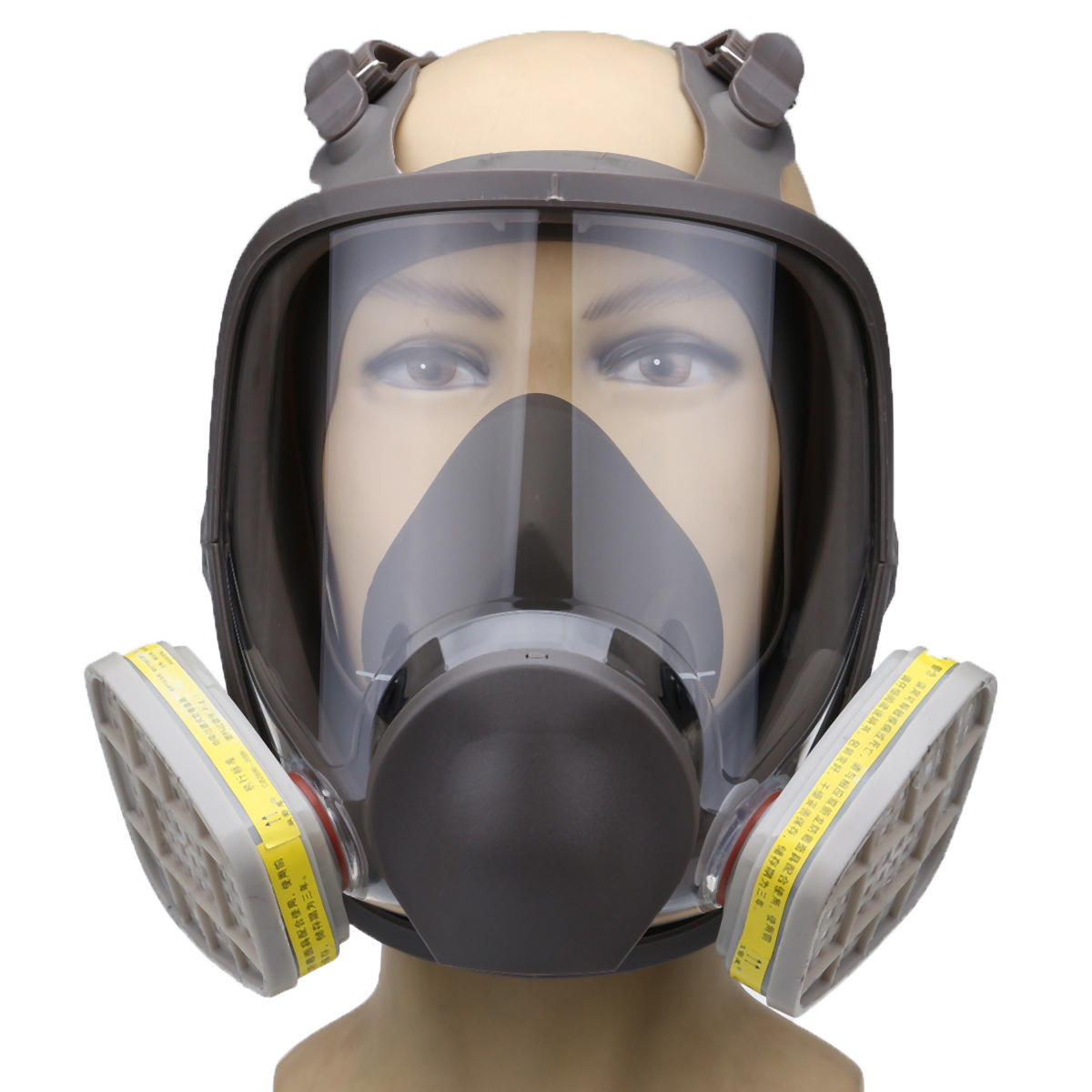 For 6800 Silicone Gas Mask Full Face Facepiece Respirator Painting Spraying Mask Event & Party