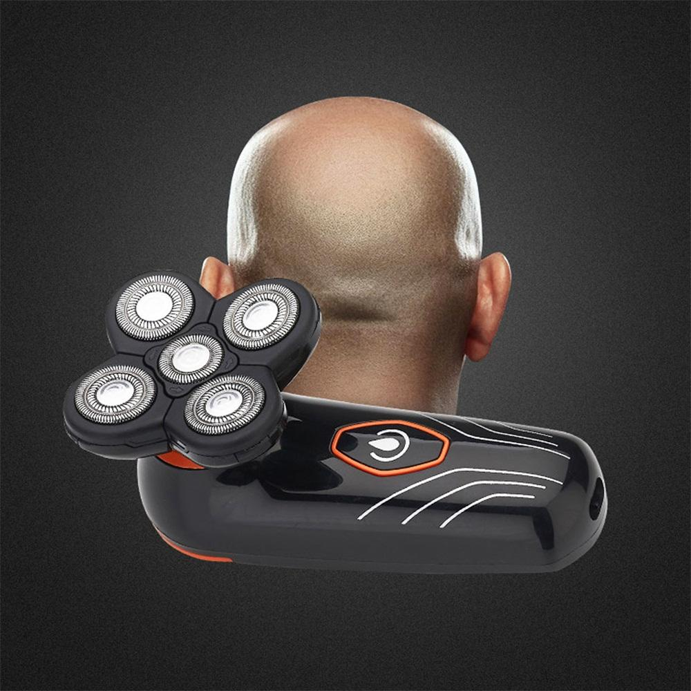 5 Heads Electric Floating Shaving Razor Intelligent Speedy Men's Electric Shaver Waterproof