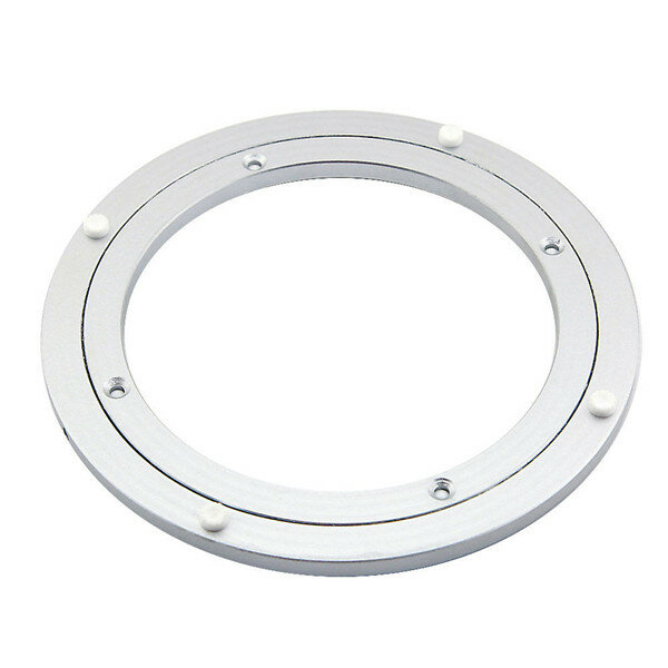 200mm Round Dining Table Turntable Bearing Lazy Susan Aluminum