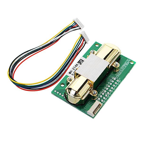 NDIR CO2 Sensor MH-Z14A PWM NDIR Infrared Carbon Dioxide Sensor Module Serial Port 0-5000PPM