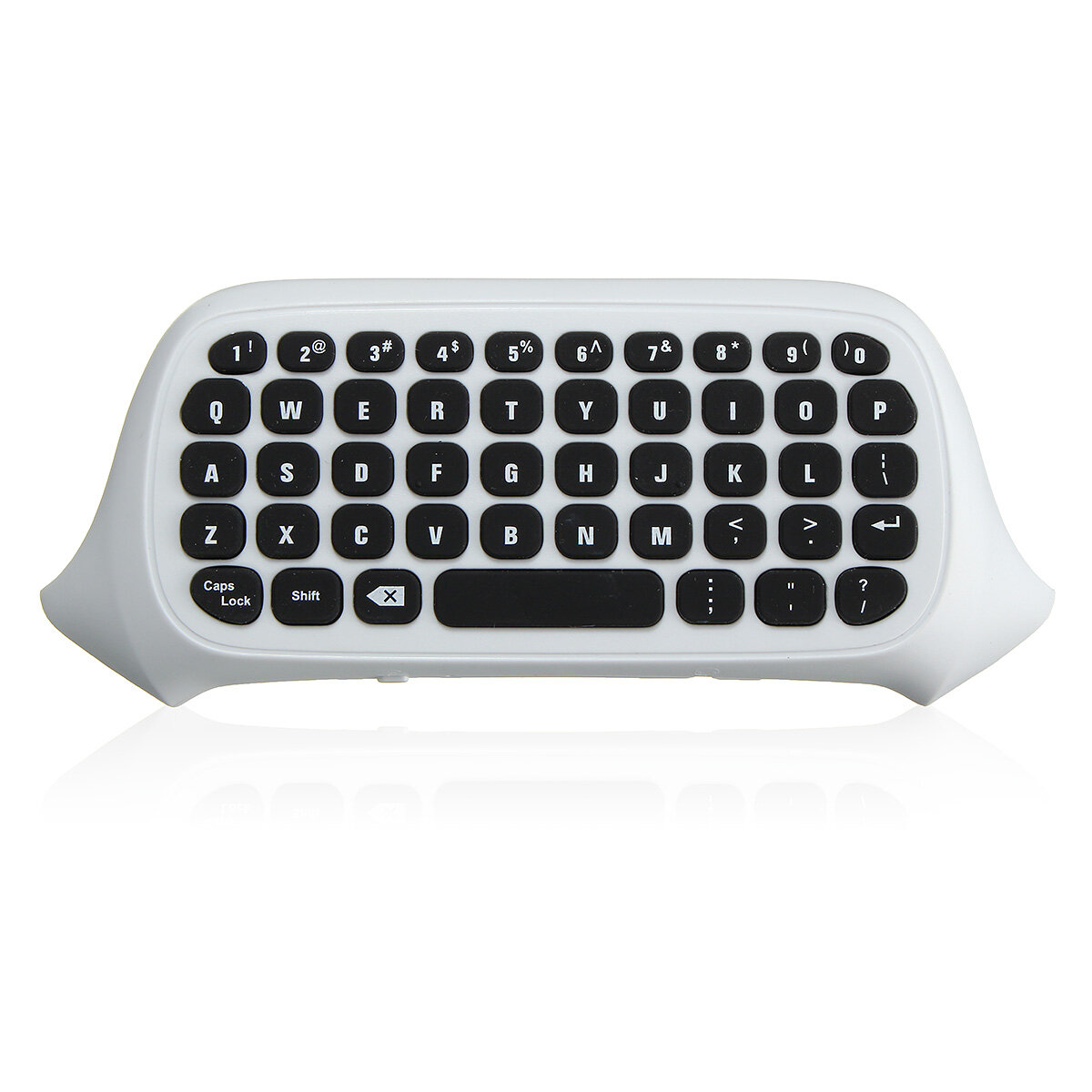 2.4G White Sans fil Message Chatpad Keyboard KeyPad pour Xbox One S Controller