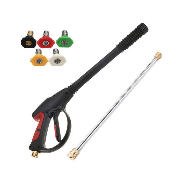 3000PSI Spray Gun and Wand / Lance avec kit de 5 conseils pour pompes à eau de laveuse à pression de puissance