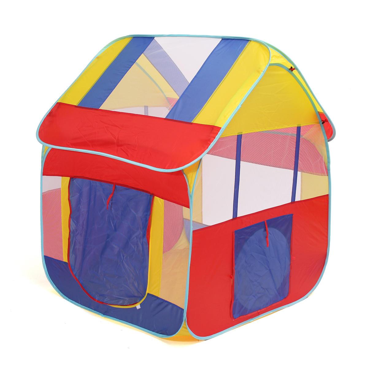 1.2m Pop Up tienda de campaña al aire libre al aire libre de juego de bolas de Pit Play House Hut diversión juego de niños de juguete