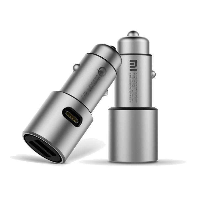 Xiaomi QC3.0 X2 Metal Dual Car Charger