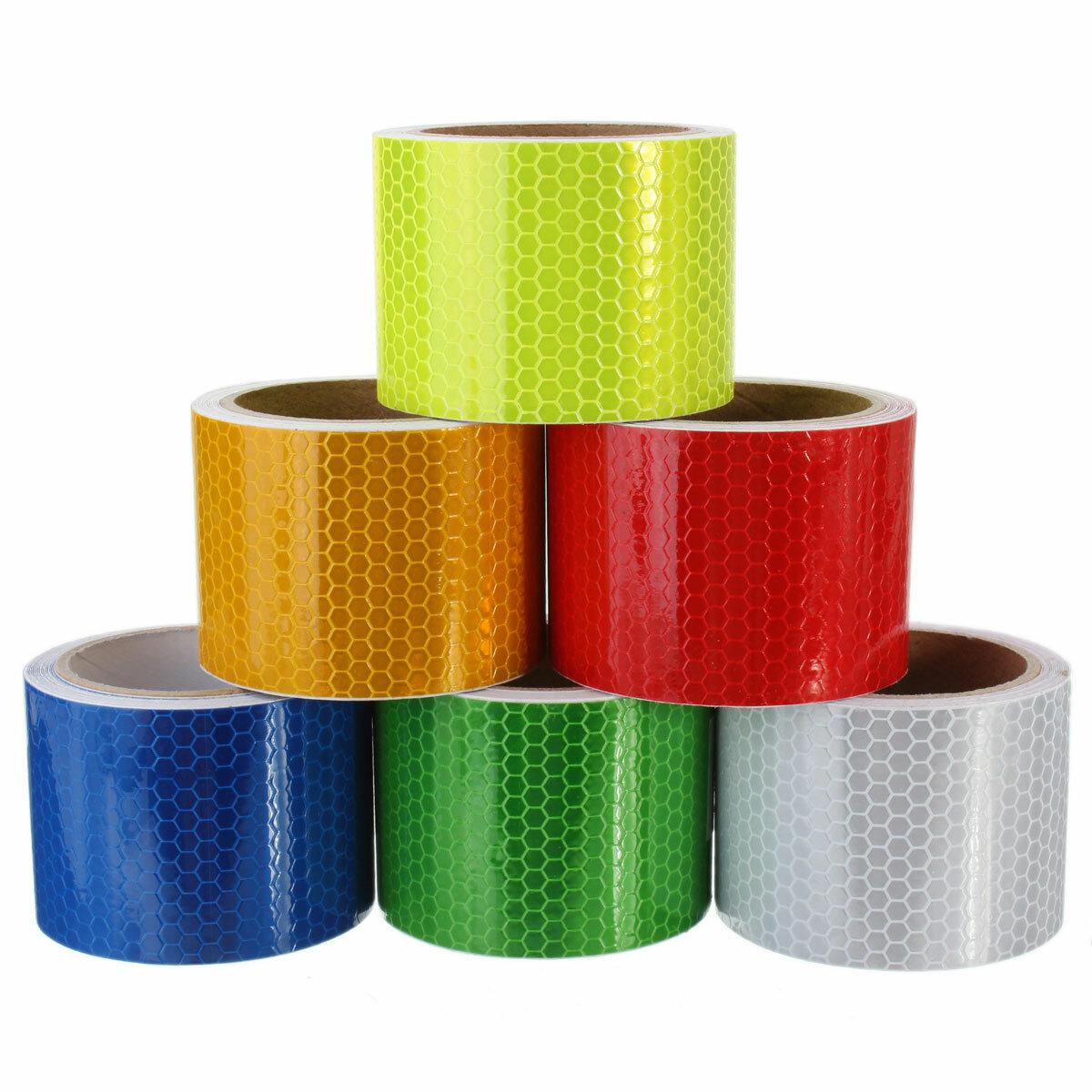 3m Nastro adesivo adesivo di avvertenza nastro adesivo di avvertimento lungo di sicurezza 6 colori