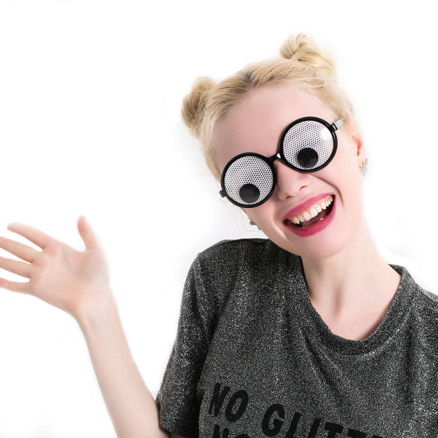 83b1a65437 Funny Googly Eyes Goggles Shaking Eyes Party Glasses and Toys for Party  Cosplay Costume Christmas Halloween Party Decoration COD