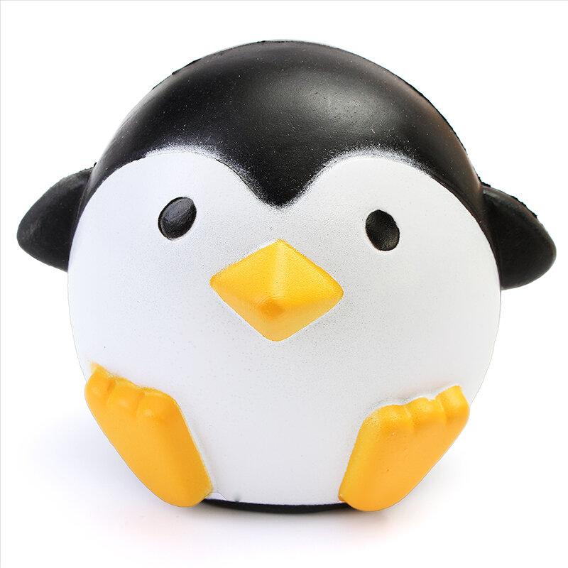 Squishy Pingouin 10 cm Récupération Lente Doux Kawaii Animaux Mignons Collection Cadeau Décor Jouet