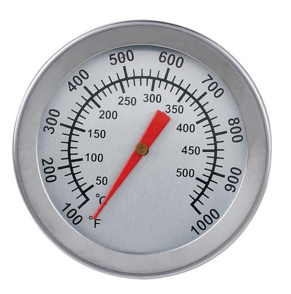 Stainless Steel BBQ Grill Smoker Thermometer Gauge Barbecue Cooking Grill Tools BBQ Thermometer