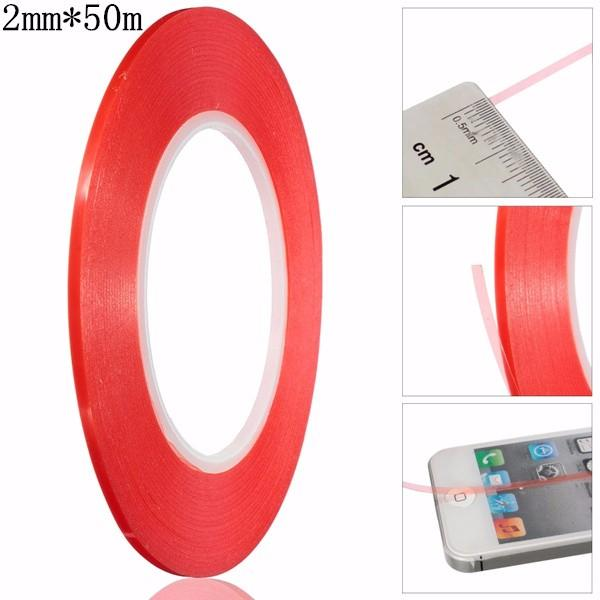 3mm Double Sided Tape Adhesive Glue Sticker For Smart Phone Screen Repair 50m Special Adhesive For Maintenance Of Mobile Phone Back To Search Resultsoffice & School Supplies