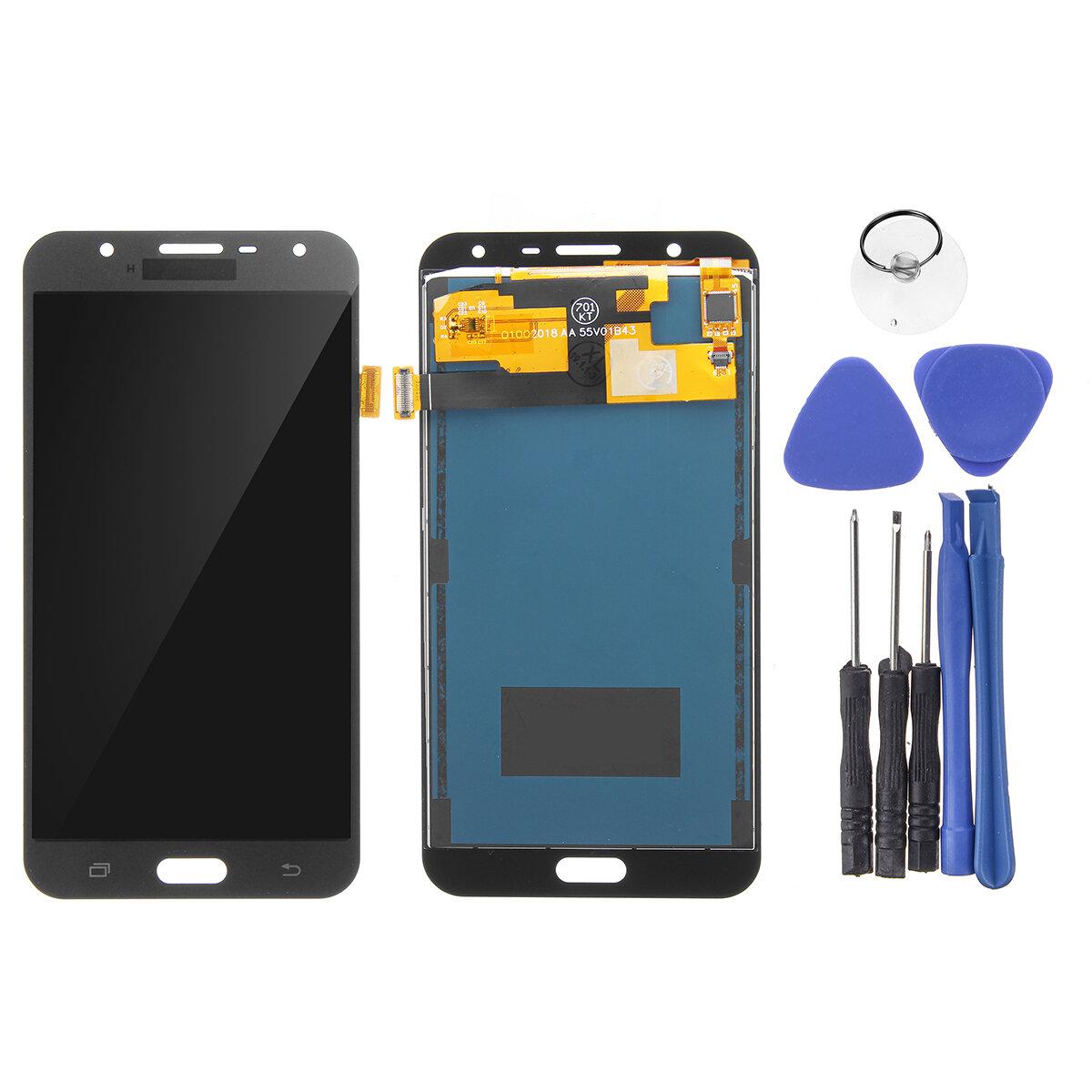 LCD Pantalla + reemplazo del digitizador de la pantalla táctil con la reparación herramientas para Samsung Galaxy J7 Neo J701F J701M