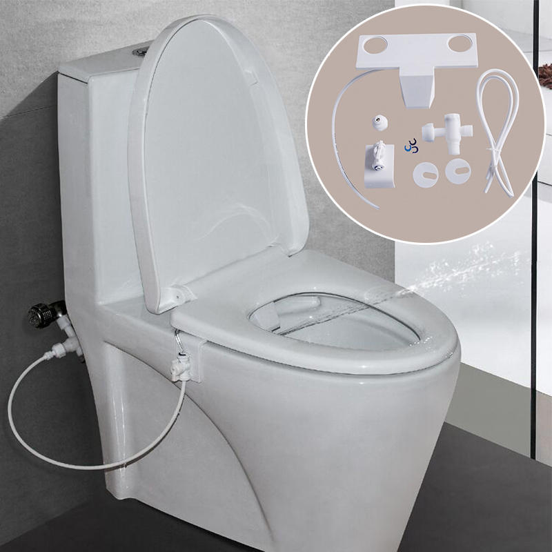 Honana Home Bathroom Universal Type Simple Using Toilet Spray Bidet Female Hygeian Flushing Device
