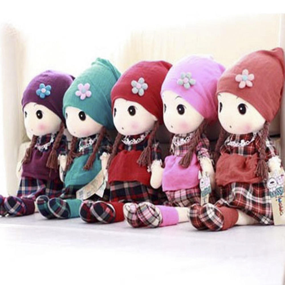 Metoo 40cm kawaii Stuffed Plush Cartoon Kids Toy For Girls Children Birthday Christmas Gift