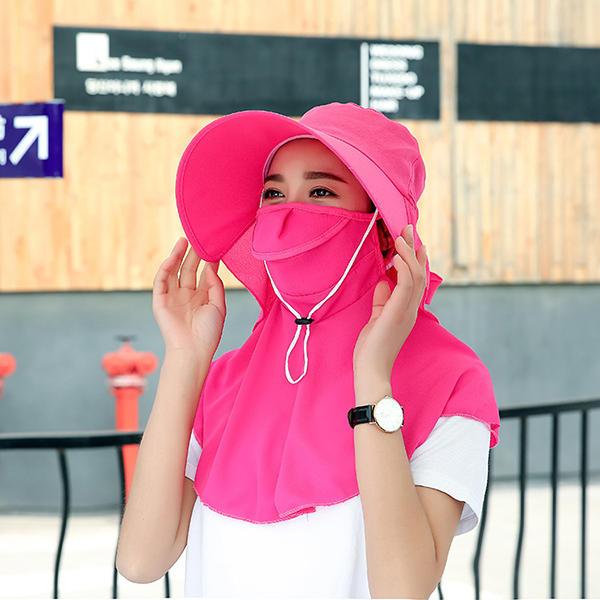 Giardinaggio respirabile all'aperto Cappellino Anti-UV per il giardinaggio traspirante di estate