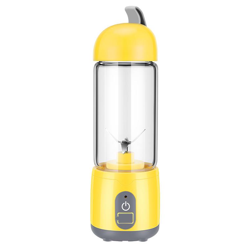 KONKA KJ-60U02 Portable USB Charing Electric Fruit Juicer Household Milkshake Blender 420ml Mix Cup