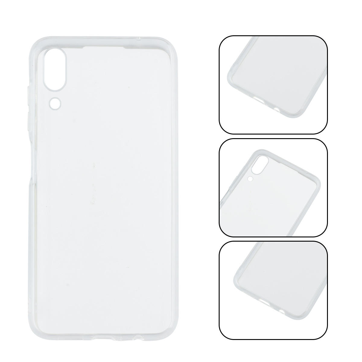 Bakeey Transparent Ultra-thin Hard PC Protective Case For UMIDIGI One Max