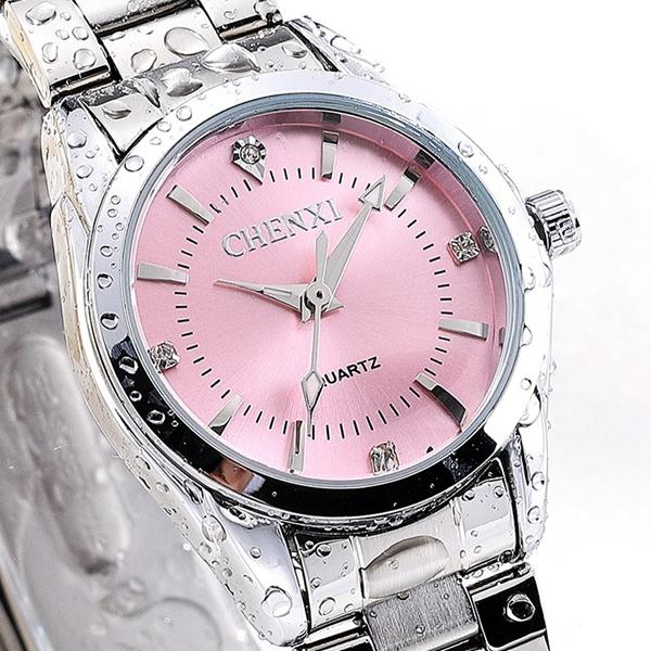 CHENXI 021B Rhinestone Fashionable Women Watches