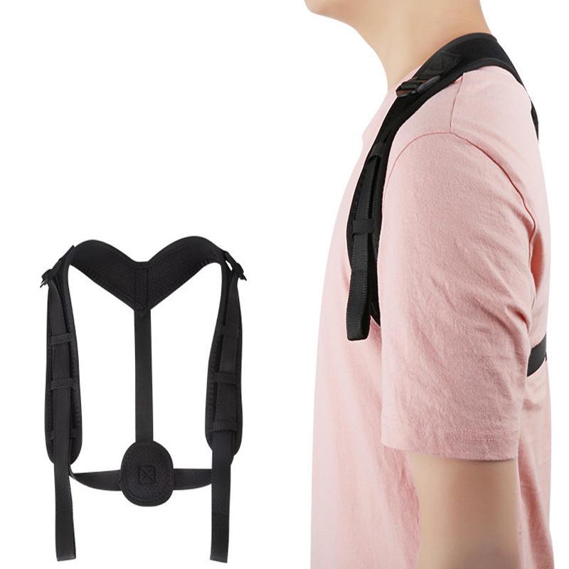 IPRee® Polyester Adjustable Posture Corrector Back Support Humpback Correction Belt Sports Strap