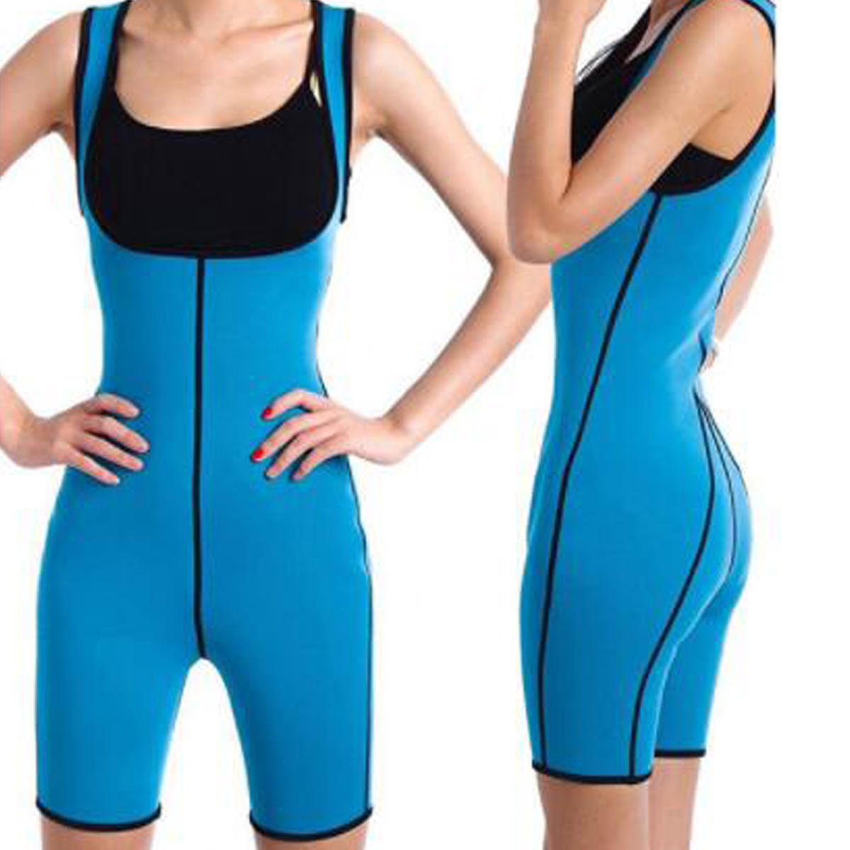 c94fef477bb Womens Shapewear Full Body Sweat Shaper Fitness Gym Sport Slimming Keep Fit Sauna  Suit Vest