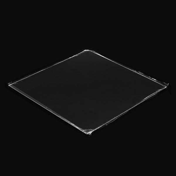 Plate-forme en verre 3D Création 3D® 510 * 510 * 4mm avec forte adhérence