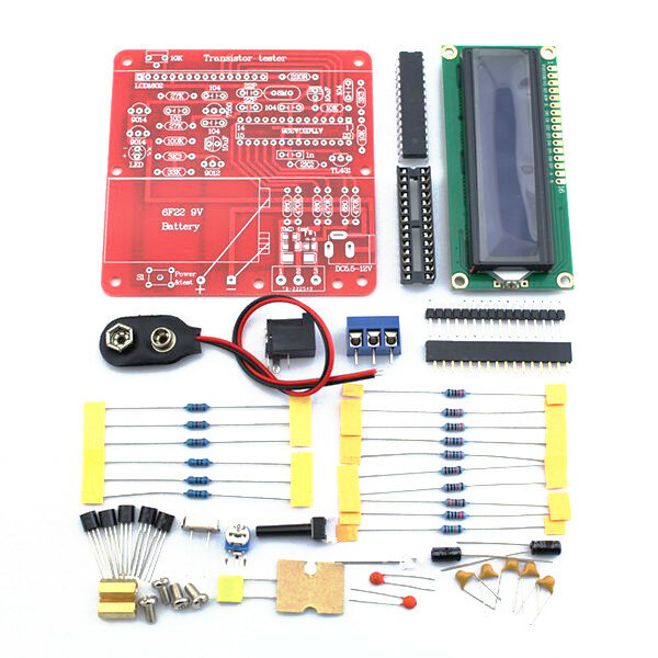 Original Hiland DIY Multifunction Transistor Tester Kit For LCR ESR Transistor PWM Signal Generator