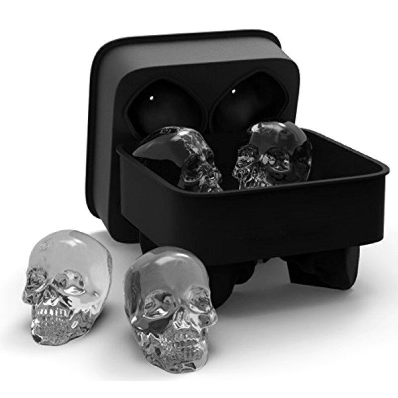 Foremka do lodu czaszki KCASA 3D Skull za $4 / ~15zł