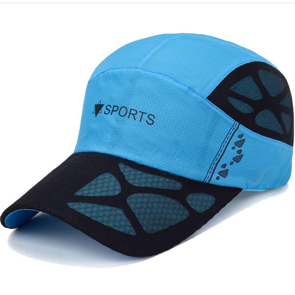 68320b7e6b032 Cool Dad Quick Dry Hats Men s Breathable Baseball Cap Outdoor Visor Sun Hat  COD