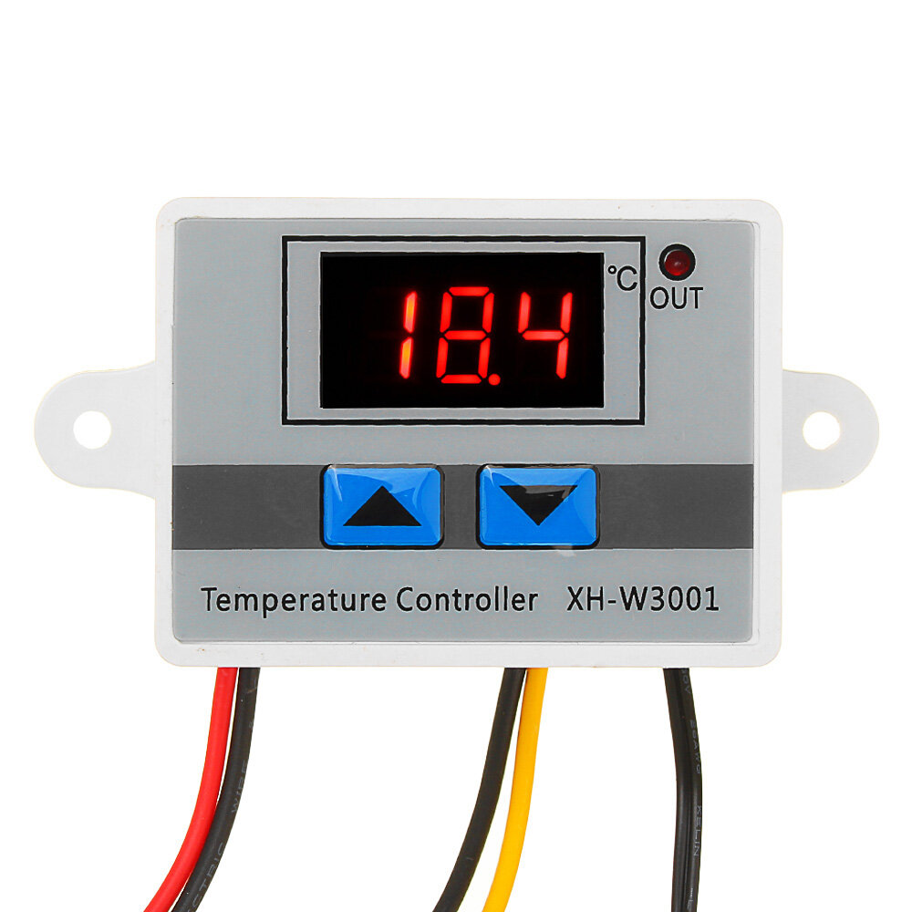 XH-W3001 Microcomputer Digital Temperature Controller Thermostat Temperature Control Switch With Display