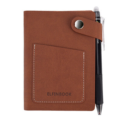 Elfinbook Mini Smart Notebook APP Sao lưu PU Business Notebook