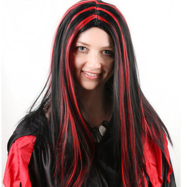 Halloween Party Full Hair Cosplay Wigs Anime Long Straight Hair