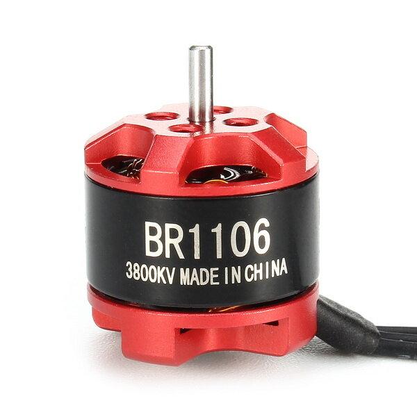 Racerstar Yarış Sürümü 1106 BR1106 3800KV 1-3S Fırçasız Motor için 100 120 150 RC Drone FPV Yarış