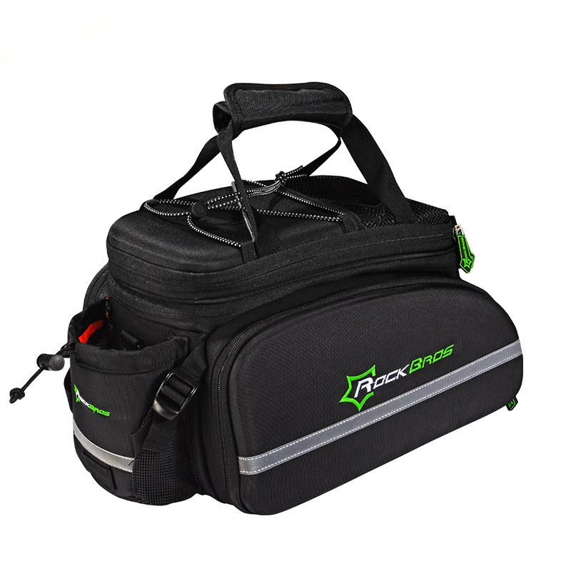 Rockbros Cycling Rack Bag Bicycle Rear Trunk Carry Mountain Bike Backpack